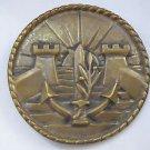 Israel Navy IDF Army Zahal Military Bronze Plaque