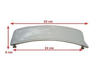 Brand New White Front Mudguard Number Plate For Vintage Models