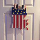 LA STARS & STRIPES DOOR HANGER
