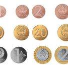 Belarus Full Circulating Coins Set 8 2016 New