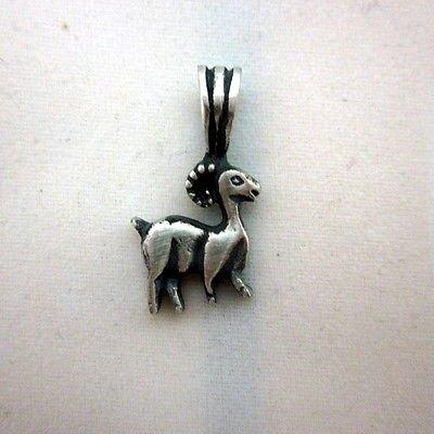 Aries 13.9 x 25.5 mm zodiac solid silver pendant