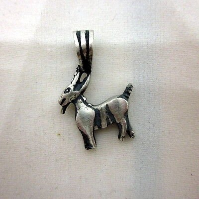 Capricorn 17 x 26mm solid silver 925 charm pendant