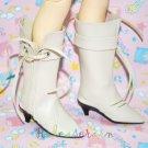 Dollfie MSD Unoa Shoes Cowgirl Tassel Heel Boots Ivory