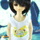 MSD Dollfie Doll Outfit White Sleeveless Picnic