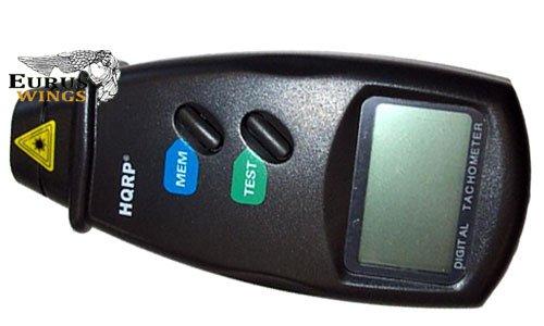 HQRP Handheld Tach Digital Laser / Photo Tachometer