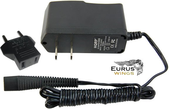 HQRP AC Adapter Charger for Braun Series 3 Model 330s-4 320s-4 Type 5415