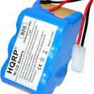 HQRP 7.2V 2000mAh Battery for Euro-Pro Shark V1945Z XB1945W XB1946W XB1946 V1945