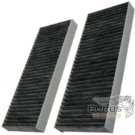 HQRP Cabin Air Filter for Nissan Frontier / Pathfinder 2005-2012