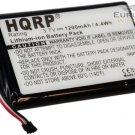 HQRP Battery for Garmin Nuvi 2455LMT/LT 2475LT 2495LMT 2555LMT/LT 2595LMT