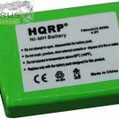 HQRP 750mAh Battery for DC-25 Kinetic MH750PF64HC Dog Collar