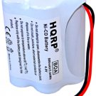 HQRP 800mAh 4.8V Battery for Uniden Bearcat Sportcat BP120 BP180 Scanners