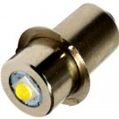 HQRP Upgrade Bulb 3W LED 100LM for Ryobi ONE+ P704 P700 7811501 Flashlight