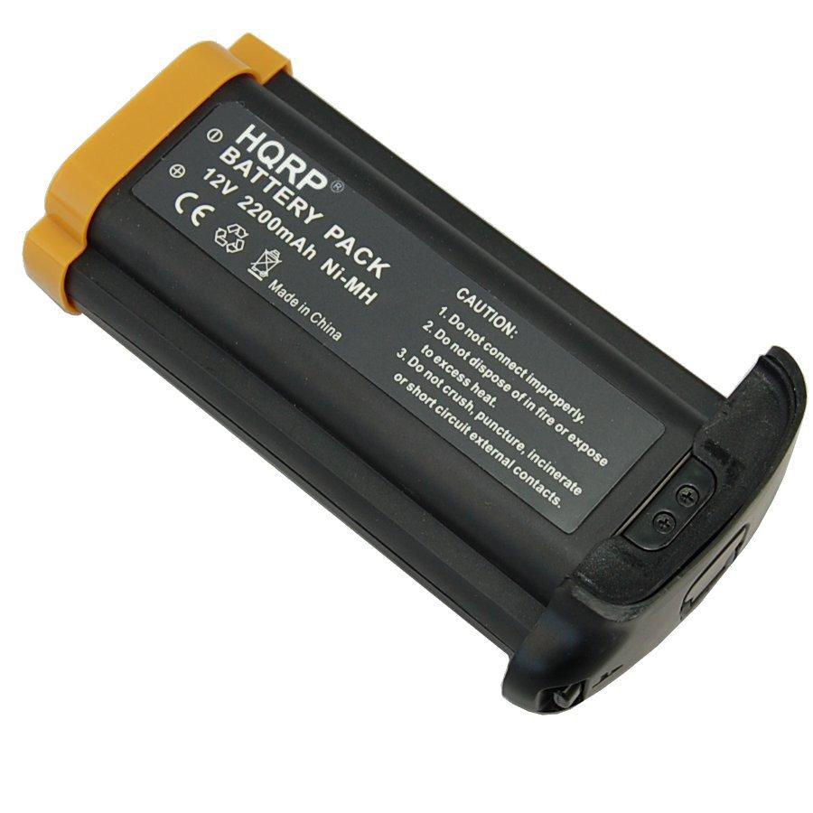 HQRP 2200mAh Battery for Canon NP-E3 EOS 1D, 1D Mark II /N, 1Ds, 1Ds Mark II