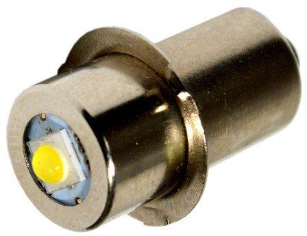 HQRP 3W LED Bulb for Makita BML185 BML185W ML140 ML141 ML142 ML143 ML183 ML184