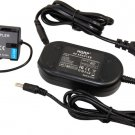 HQRP AC Power Adapter for Panasonic DMW-BLF19PP; Lumix DMC-GH4, DMC-GH4K Camera