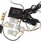 HQRP Xenon White 4 HID Bulbs Hide-A-Way Emergency Hazard Warning Strobe Light
