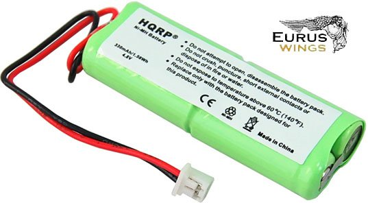 2-Pack HQRP Battery for Dogtra BP12RT BP-12 28AAAM4SMX 40AAAM4SMX