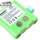 HQRP Rechargeable Battery for Motorola BNH370 SX700 SX700R Two-Way Radio