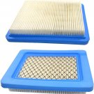 2x HQRP Air Filters for Briggs & Stratton with 6.5, 7.75, 7 HP Lawn Mower Engine