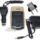 HQRP Battery Charger for Nikon Coolpix P3 P4 P80 P90 P100 P500