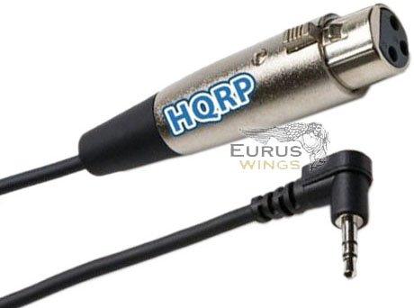 "HQRP 1/8"" to XLR Female Cable for Hosa XVS-101F, Audio-Technica AE3000, AE3300"