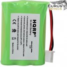 HQRP Battery for Tri-Tronics Multi-Sport 2S 3S, Sport 50S 60S 65 BPRS 80C 80M