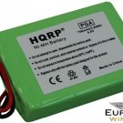 HQRP Battery for Sportdog UplandHunter SD-1850 SR200-IB Dog Collar Receiver