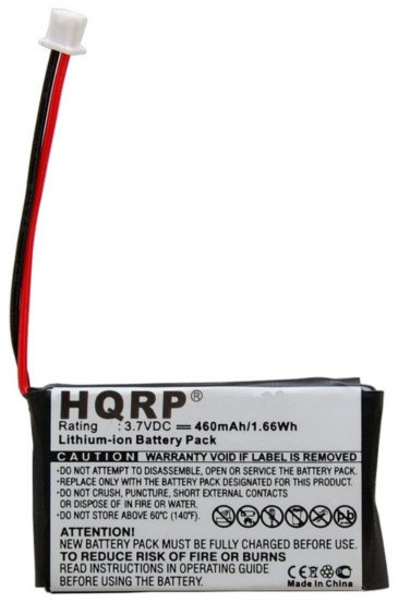 HQRP Battery for Nintendo Game Boy Micro OXY-001 GPNT-02 OXY-003 OXY-002