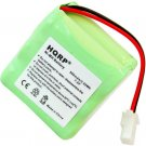 HQRP 350 mAh Ni-Mh Rechargeable Transmitter Battery for GP 30AAAM6WML