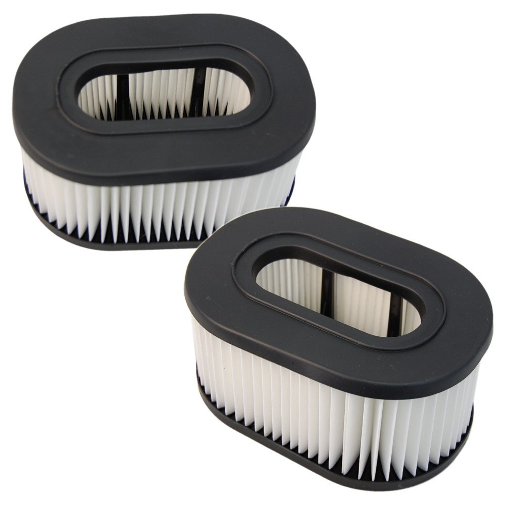 2x HQRP Washable Hepa Filters for Hoover TurboPower Fold Away Widepath Runabout