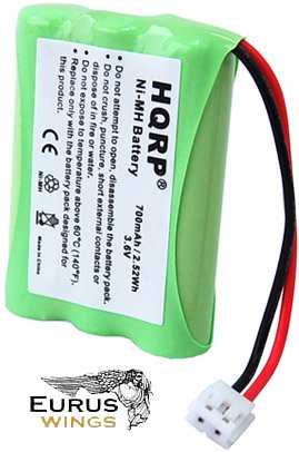 HQRP Battery for Energizer ER-P510 ERP510 Home Cordless Phone