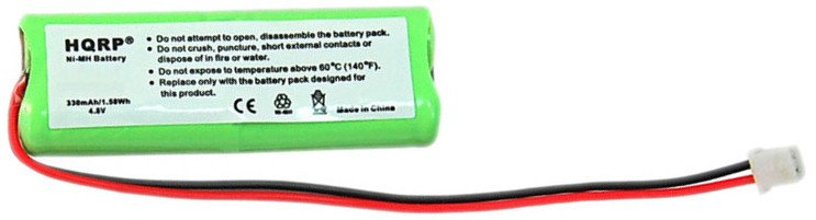 2-Pack HQRP Batteries for Dogtra 1600-NCP 1602-NCP 1700-NCP 1702-NCP Receiver