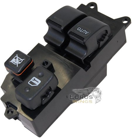 HQRP Electric Power Window Master Switch for Toyota Tacoma 1998 1999 2000