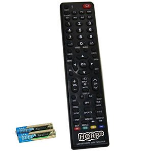 HQRP Remote Control for Sanyo FVM3982 DP39843