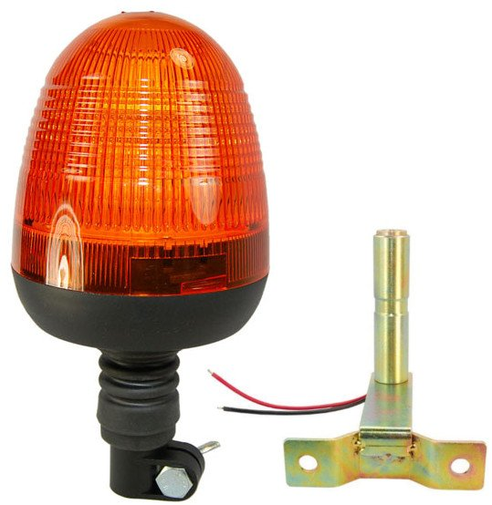 HQRP LED Amber Emergency Flash Strobe Warning Light Beacon for Snow Plow Vehicle