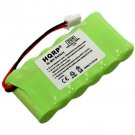 HQRP Battery for Dogtra BP72T 40AAAM6BML RR Deluxe Remote Release Transmitter