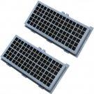 2x HQRP H12 Filters for Miele AH 30 / SF-AH30 / 7226160 / 4854916 / 4306919