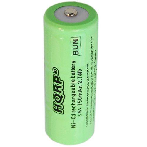 HQRP 750mAh Battery for Welch Allyn MacroView Otoscope 23862, 53130 KleenSpec