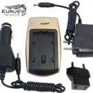 HQRP Battery Charger for Leica Digilux 2, Leica Digilux 1