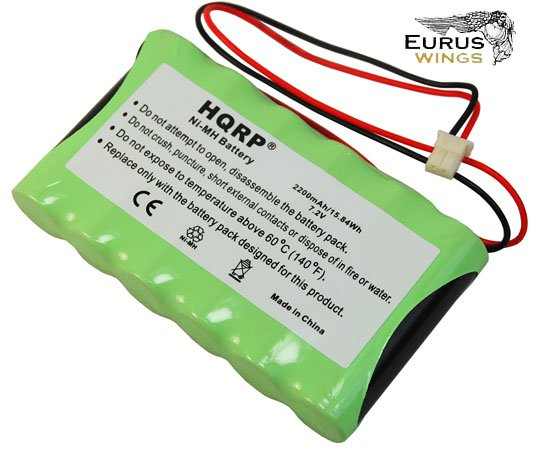 HQRP Battery for Ademco Honeywell LYNXRCHKITHC LYNXRCHKIT-HC K5109 781410403291