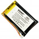 HQRP Battery for Garmin Nuvi 1400, 1450, 1450T, 1490, 1490T, 1490T Pro, 1490TV