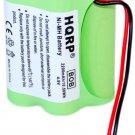 HQRP 2200mAh 4.8V Battery for Uniden Bearcat BC250 BC250D BC296 BC296D