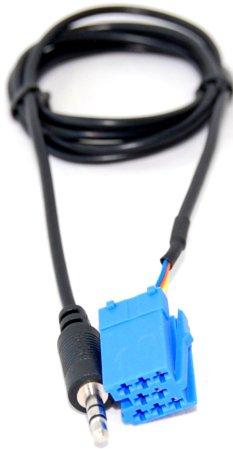 HQRP Audio cable Blaupunkt to 3.5MM for Porsche Becker CDR-22 CR-220 CDR-220