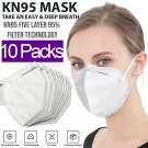 KN95 Face Mask Respirator (10 PACK) Non Medical 5 Layer Protection PM2.5 BFE 95%   SGDH