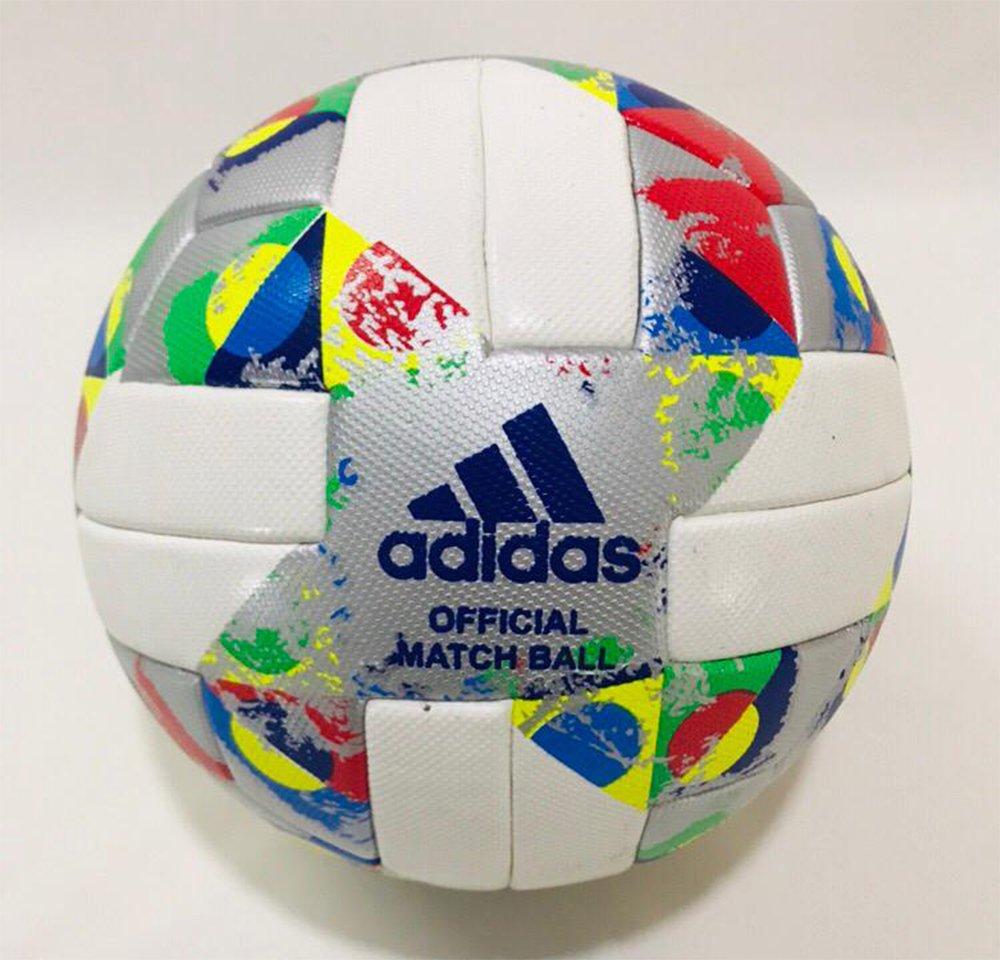 ADIDAS UEFA NATIONS LEAGUE 2018/19 Official Soccer Match Replica Ball Size 5
