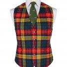 Scottish Buchanan Vest / Irish Formal Tartan Waistcoats - 4 Plaids