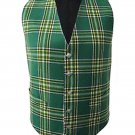Scottish Irish National Vest / Irish Formal Tartan Waistcoats - 4 Plaids
