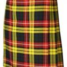Traditional Buchanan 13oz. Tartan 5 Yard Scottish Kilt 26 Waist Size Dress Skirt Tartan Kilts