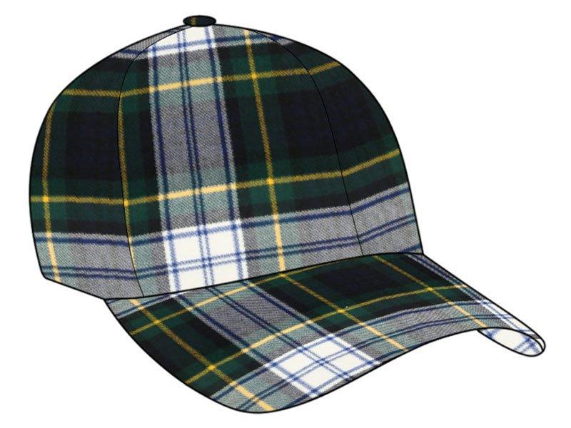 Men / Women Fashion Leisure Grid Fad All-Match Dress Gordon Plaid Baseball Cap Peaked Cap