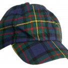 Men / Women Fashion Leisure Grid Fad All-Match Hunting Stewart Tartan Plaid Baseball Cap Peaked Cap